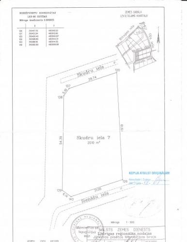 Sludinājumi. Pārdod apbūves gabalu Asaros netālu no Lielupes krasta ar kopējo zemes platību 1005 m2. Ir pieejams Cena: 25000 EUR Foto #2