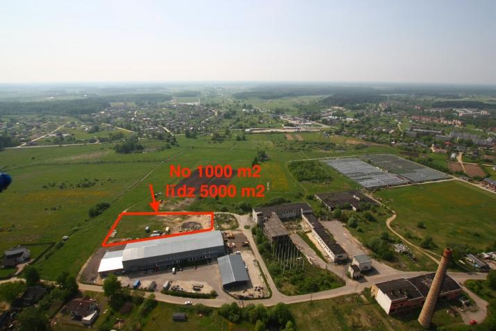 Sludinājumi. Noliktavu/ražotņu un biroju komplekss Ķekavā.  Iznomājam iežogotus āra laukumus tehnikas, Cena: 100 EUR/mēn Foto #1