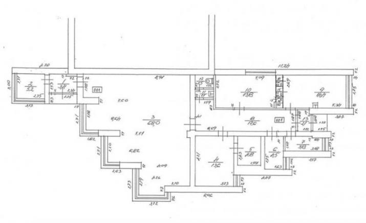 Sludinājumi. Tirdzniecības telpas Purvciemā, 1. stāvā. Platība sastāv no zāles, vairākiem kabinetiem, Cena: 118000 EUR Foto #3