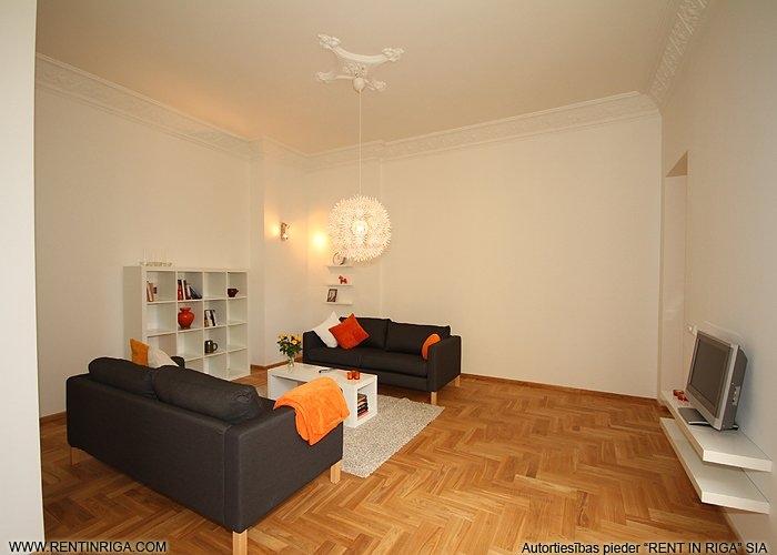 Объявление. Предлагается в аренду квартира в красивом здании в стиле модерн на улице Валдемара. Квартира Цена: 1500 EUR/мес. Foto #5
