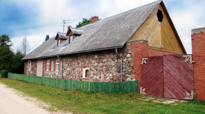 Объявление. Tiek pārdota 5,3ha (53 000m2) zemes ar lauku viensētu lieliskā stāvoklī, kura celta no dabīgā Цена: 153000 EUR Foto #5