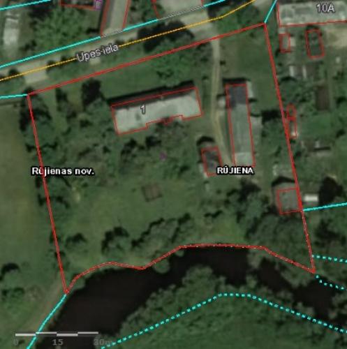 Sludinājumi. Tiek pārdota koka dzīvojamā ēka, kas ir sadalīta dzīvokļū īpašumos pašā Rūjienas centrā, Rūjas upes Cena: 36000 EUR Foto #5