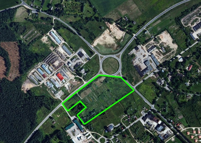 Sludinājumi. Pārdod 6.4 ha lielu zemes īpašumu Valmierā Matīšu šosejā pie A3 šosejas. Īpašums atrodas jauktas Cena: 430000 EUR Foto #1