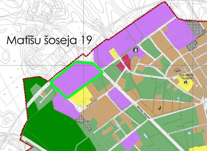 Sludinājumi. Pārdod 6.4 ha lielu zemes īpašumu Valmierā Matīšu šosejā pie A3 šosejas. Īpašums atrodas jauktas Cena: 430000 EUR Foto #5