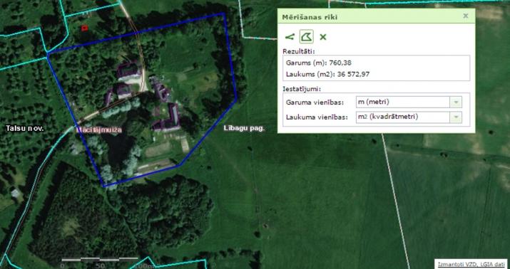 Sludinājumi. Pārdod daļu no nekustamā īpašuma  zemes gabalu (kad. apz. 88720070034) ar kopējo platību ~3,6 ha Cena: 15000 EUR Foto #3