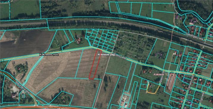 Sludinājumi. Pārdod apbūves zemi Koknesē. Zemes gabala pielietojums - privātmājas būvniecībai. Ainaviska vieta, Cena: 6000 EUR Foto #1