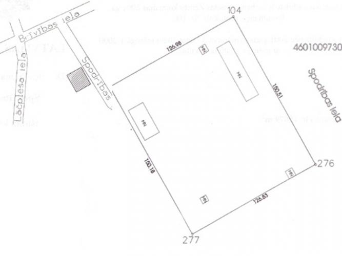 Sludinājumi. Pārdod zemes gabalu 1.91 ha platībā Dobeles pilsētā, uzņēmuma Tenax un Dobeles dzirnavnieks tuvumā. Cena: 60000 EUR Foto #4
