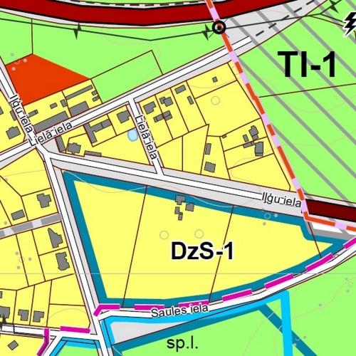 Sludinājumi. Pārdod zemes gabalu 1670 m2 platībā Grobiņas pilsētā, Iļģu ielā 6. Zemes gabals atrodas savrupmāju Cena: 11000 EUR Foto #3