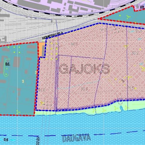 Sludinājumi. Pārdod zemes gabalu 2.28 ha platībā Daugavas krastā. Saskaņā ar attīstības plānu zemes gabals Cena: 25000 EUR Foto #3