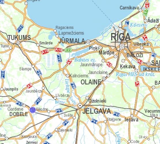 Sludinājumi. Pārdod zames gabalu 4,23ha platībā Dobles pilsētā, uzņēmuma Tenax un Dobeles dzirnavnieks tuvumā. Cena: 211000 EUR Foto #5