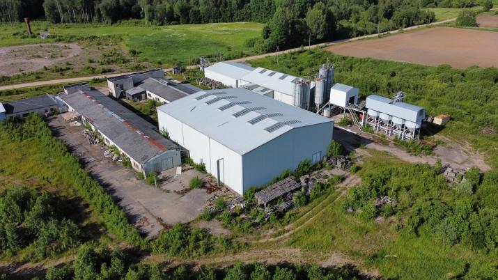 Sludinājumi. Ražošanas telpu un noliktavu komplekss.  + Vērtējums 2 000 000 EUR + Komplekss sastāv no Divām Cena: 350000 EUR Foto #3