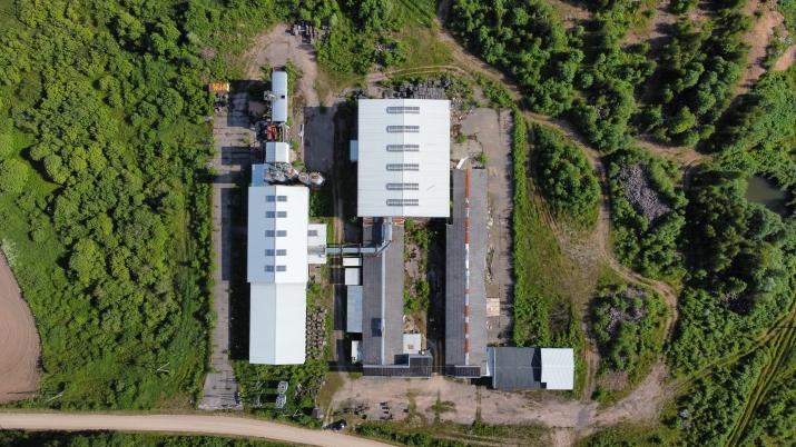 Sludinājumi. Ražošanas telpu un noliktavu komplekss.  + Vērtējums 2 000 000 EUR + Komplekss sastāv no Divām Cena: 350000 EUR Foto #4