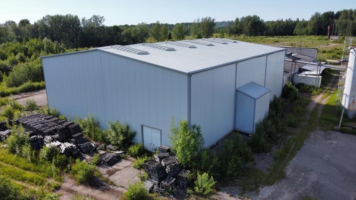 Sludinājumi. Ražošanas telpu un noliktavu komplekss.  + Vērtējums 2 000 000 EUR + Komplekss sastāv no Divām Cena: 350000 EUR Foto #2