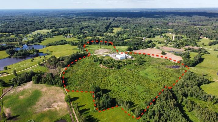 Sludinājumi. Ražošanas telpu un noliktavu komplekss.  + Vērtējums 2 000 000 EUR + Komplekss sastāv no Divām Cena: 350000 EUR Foto #1