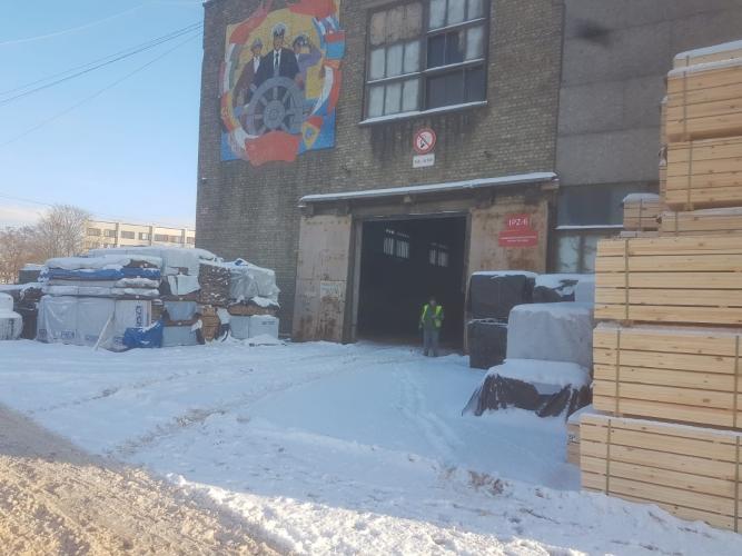 Объявление. Neapkurināmas noliktavas/ražošanas telpas \'Terminālis Vecmilgrāvis\' teritorijā.  + 1. stāvā. + Цена: 5600 EUR/мес. Foto #3