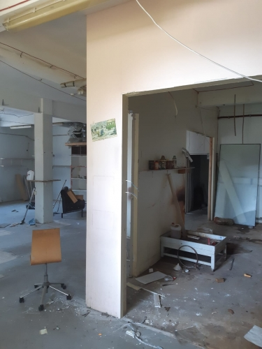 Sludinājumi. Apkurināmas noliktavas telpas Čiekurkalnā.  + 1. stāvs. + Platība sastāv no atvērtas telpas, 2 Cena: 382 EUR/mēn Foto #4