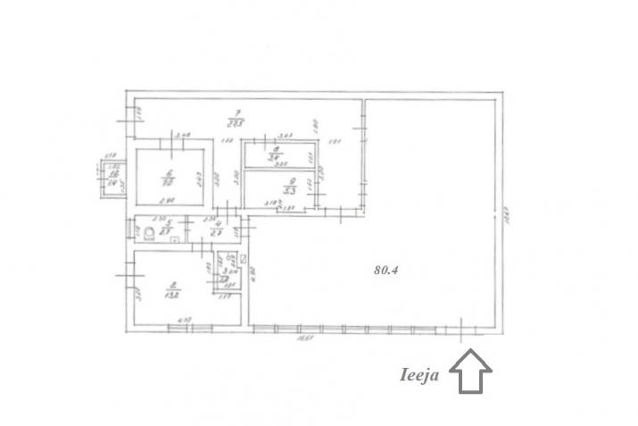 Sludinājumi. Atsevišķi stāvošā ēka Dubultos  + Ēka pielāgojama: 1)Kafejnīcai; 2)Veikalam; 3)Aptiekai/medpunktam; Cena: 90000 EUR Foto #3