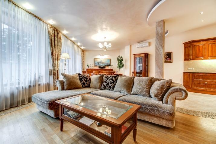 Объявление. Уютная и просторная квартира у моря. Предлагаем квартиру в центре Юрмалы, Булдури в новом проекте. Цена: 1800 EUR/мес. Foto #2