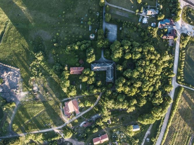 Объявление. К продаже предлагается усадьба Озолпилс, построенная в 1931 году.  Округ Энгуре, волость Смарде, у Цена: 750000 EUR Foto #3