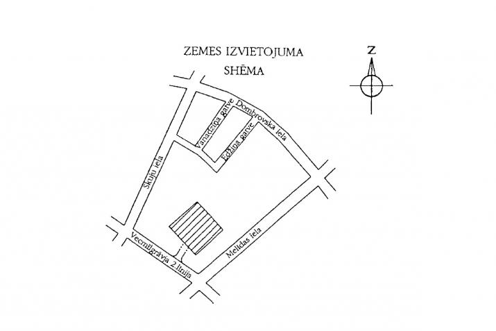 Sludinājumi. Apbūves gabals Vecmīlgrāvī ar būvniecības atļauju un saskaņotu projektu daudzdzīvokļu mājas Cena: 80000 EUR Foto #2