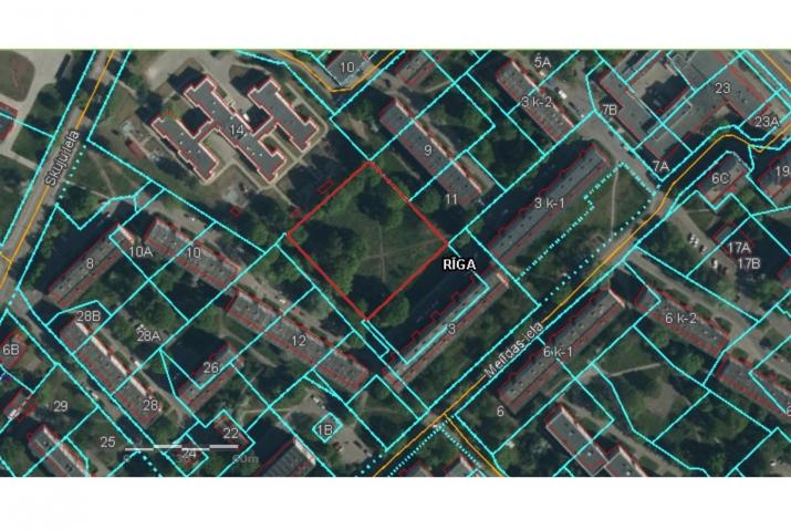 Sludinājumi. Apbūves gabals Vecmīlgrāvī ar būvniecības atļauju un saskaņotu projektu daudzdzīvokļu mājas Cena: 80000 EUR Foto #3