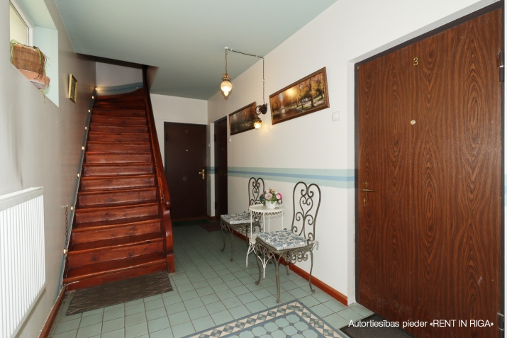 Объявление. Compact one-room apartment in a closed yard on Matīsa iela 59a.  + fully furnished and ready for Цена: 270 EUR/мес. Foto #5