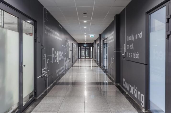 Объявление. Birojs Ziepniekkalnā.  + 2. stāvs. + Platība sastāv no vienas telpas. + Wc koplietošanas koridorī. Цена: 336 EUR/мес. Foto #4