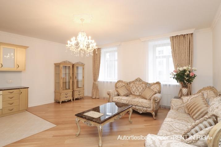 Объявление. Сдается в аренду трехкомнатная квартира в современном жилом и гостиничном комплексе. Возможно Цена: 1350 EUR/мес. Foto #4
