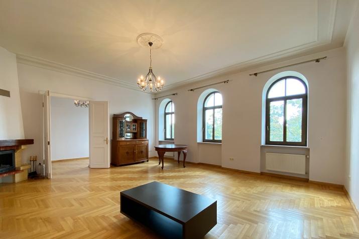 Sludinājumi. Reprezentabls dzīvoklis pašā pilsētas centrā. No loga paveras skats uz Rīgas kanāla parku un Cena: 342000 EUR Foto #2