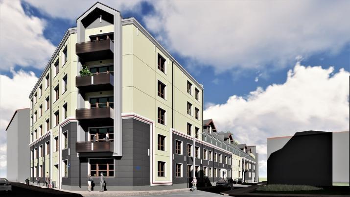 Объявление. Доступно для бронирования! Квартира в новом проекте City Home, расположенном на углу улиц Миера и Цена: 85500 EUR Foto #1