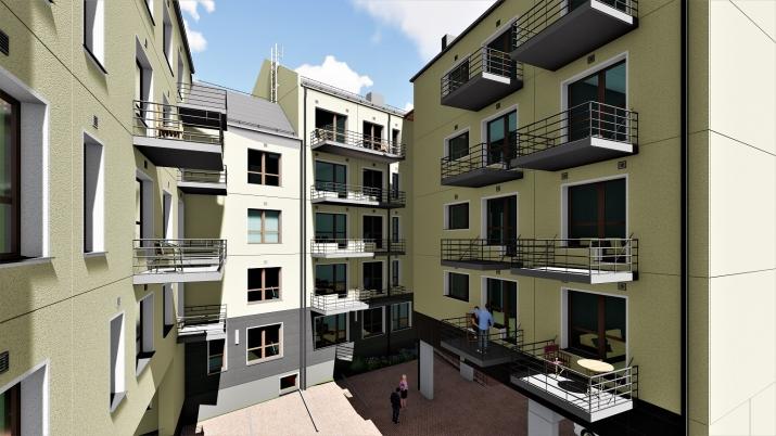 Объявление. Доступно для бронирования! Квартира в новом проекте City Home, расположенном на углу улиц Миера и Цена: 85500 EUR Foto #3