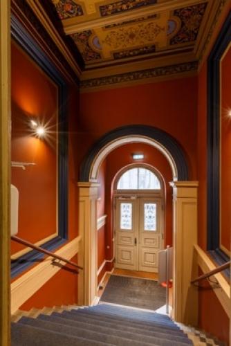 Объявление. Tiek iznomāta atsevišķi stāvoša biroja ēka.  + Trīs stāvi; + augstas kvalitātes remonts; + Цена: 12000 EUR/мес. Foto #2