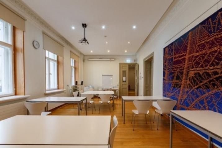 Объявление. Tiek iznomāta atsevišķi stāvoša biroja ēka.  + Trīs stāvi; + augstas kvalitātes remonts; + Цена: 12000 EUR/мес. Foto #5
