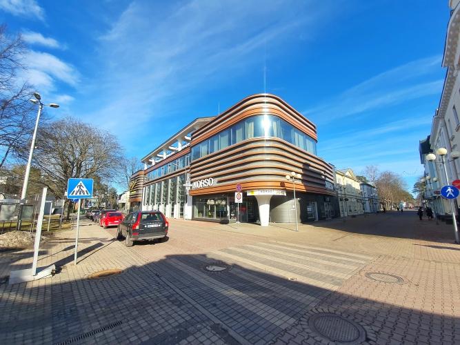 Объявление. Возможность арендовать помещения в ТЦ \'KORSO\' на улице Йомас - Юрмала!  Ниже описания предложения и Цена: 874 EUR/мес. Foto #1