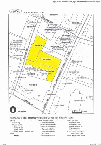 Объявление. Tiek pārdots zemes gabals Preiļu centrā.  Neapbūvētais zemes gabals atrodas starp autoostu, baznīcu Цена: 215000 EUR Foto #3