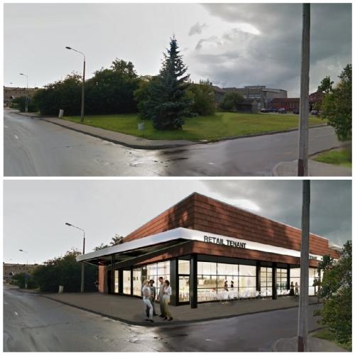 Объявление. Tiek pārdots zemes gabals Preiļu centrā.  Neapbūvētais zemes gabals atrodas starp autoostu, baznīcu Цена: 215000 EUR Foto #2