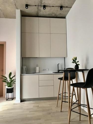 Sludinājumi. Tiek izīrēts 2-ist. dzīvoklis Vecrīgā. - Jauns dzīvoklis, pilnībā mēbelēts - Augstie griesti (3m), Cena: 500 EUR/mēn Foto #3