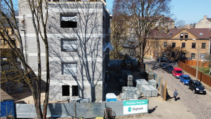 Объявление. Предлагаем купить квартиру в новом проекте всего в нескольких метрах от пруда Мара! Квартира Цена: 139600 EUR Foto #1