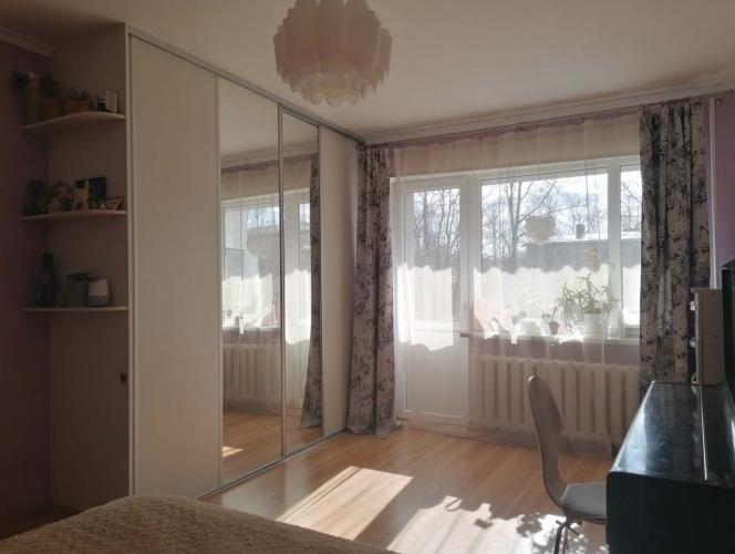 Объявление. Продаётся уютная, светлая двухкомнатная квартира с балконом. + Две изолированные комнаты; + Санузел Цена: 64000 EUR Foto #1