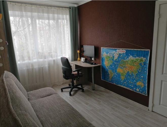 Объявление. Продаётся уютная, светлая двухкомнатная квартира с балконом. + Две изолированные комнаты; + Санузел Цена: 64000 EUR Foto #5