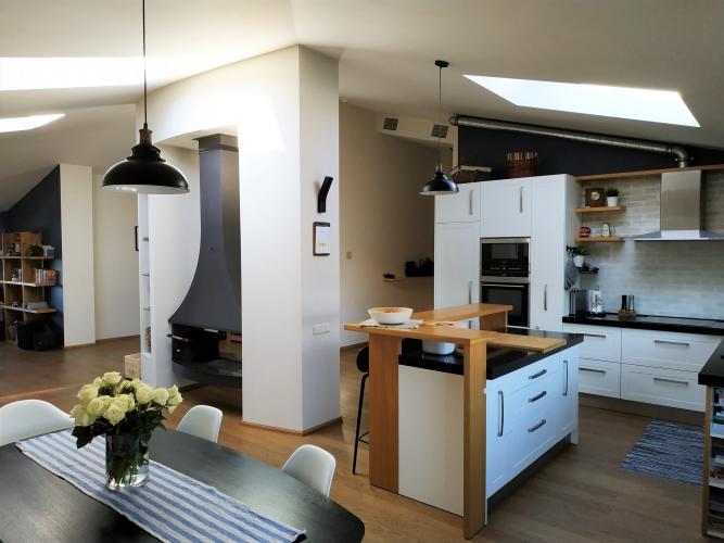 Объявление. Продается чудесная трехкомнатная квартира в Baloži, Titurga  Квартира студия типа с очень удобной Цена: 166000 EUR Foto #4