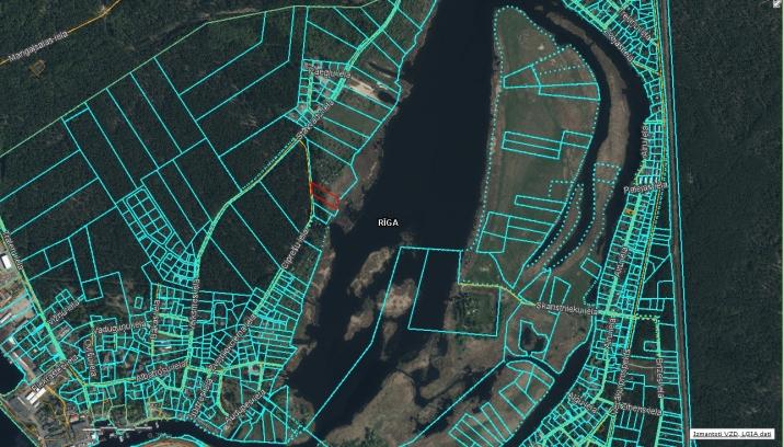 Объявление. Продается земельный в живописном месте Mangaļsala для постройки дома  Площадь: 5510м  Земельный Цена: 116000 EUR Foto #5