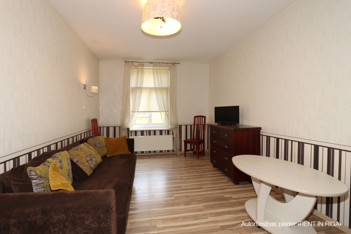 Объявление. Compact one-room apartment in a closed yard on Matīsa iela 59a.  + fully furnished and ready for Цена: 290 EUR/мес. Foto #1
